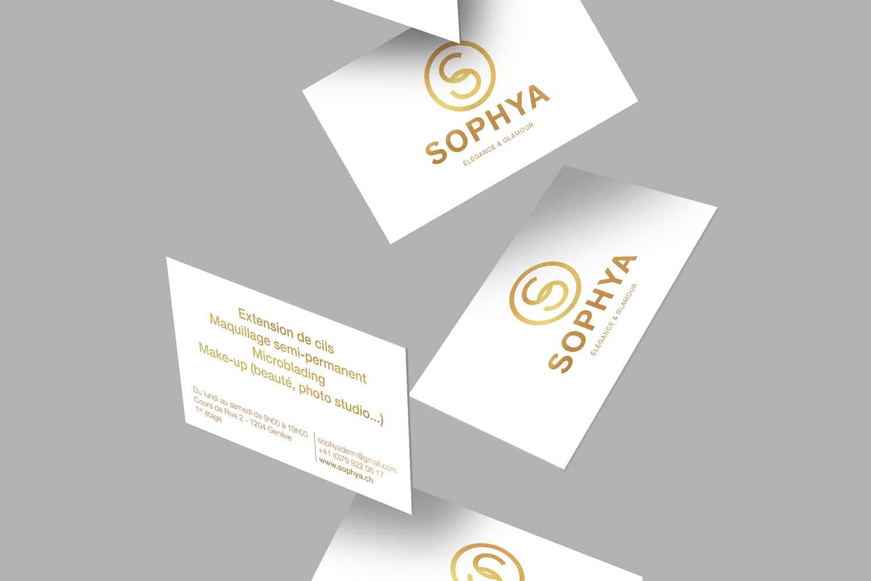 CARTE DE VISITE - SOPHYA