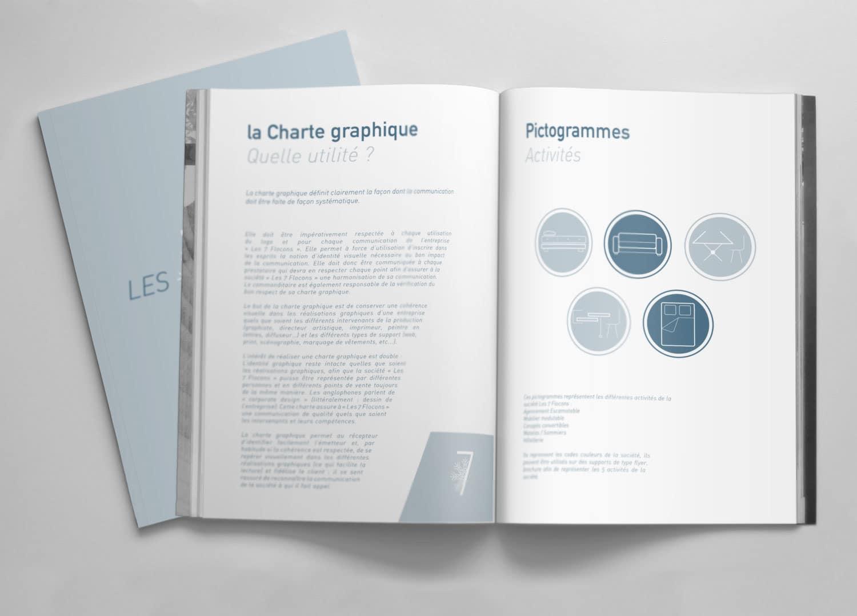 CHARTE GRAPHIQUE - LES 7 FLOCONS